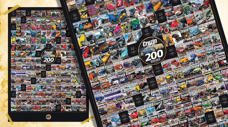 CRUZIN 200 ISSUE COMMEMORATIVE POSTER