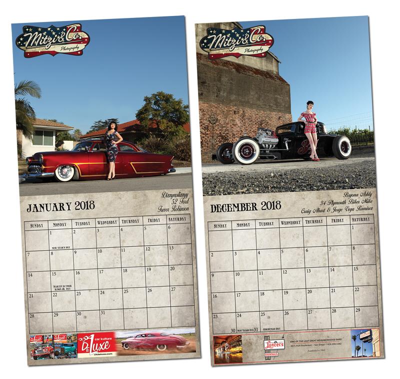 Colorado Car Shows Calendar: MITZI & CO 2018 CALENDAR