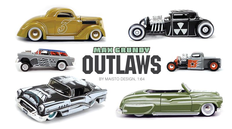 MAX GRUNDY OUTLAWS by MAISTO DESIGN