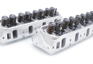 EDELBROCK  HEADS FOR CHEVYS AND FORDS AT SUMMIT