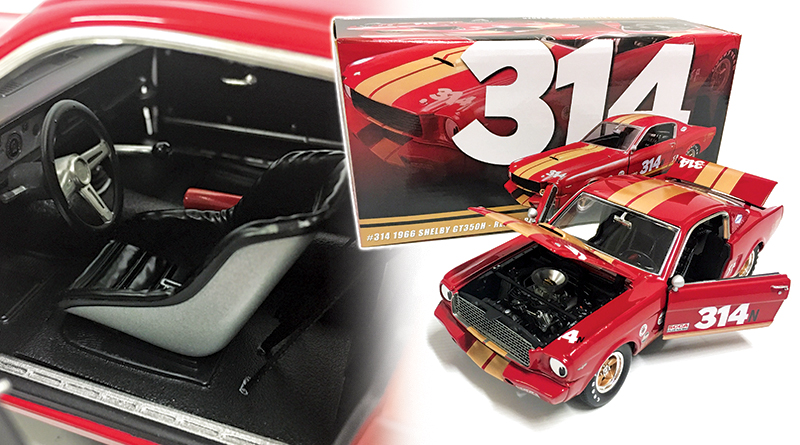 ACME 1:18 1966 SHELBY GT350H RENT-A-RACER