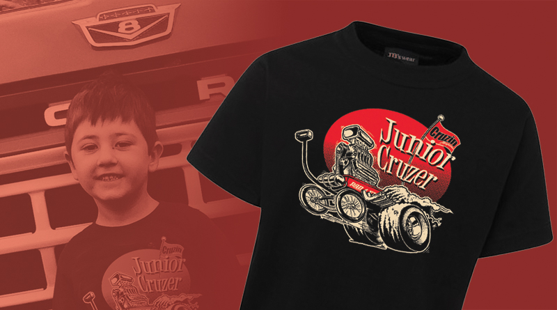 CRUZIN 'JUNIOR CRUZER' KID'S TEES