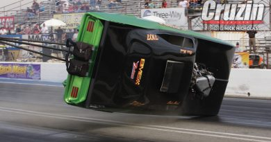 FUNNY CAR FLIP OUT!