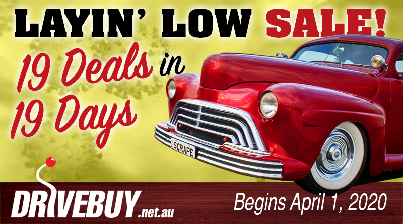 19 DEALS IN 19 DAYS – LAYIN' LOW SALE
