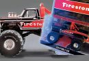 ACME EXCLUSIVE 1974 FORD F250 FIRESTONE MONSTER TRUCK 1:64 SCALE