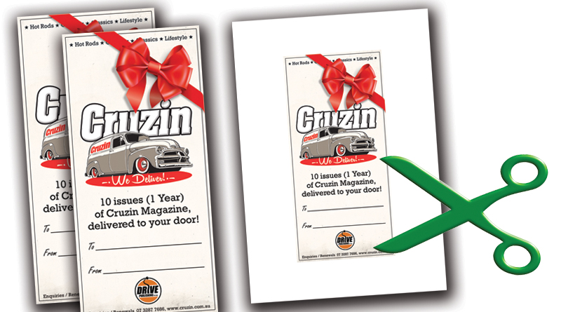 CARD INSERTS FOR CRUZIN GIFT SUBSCRIPTIONS