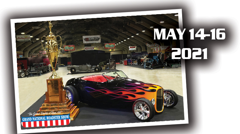 NEW DATES FOR GRAND NATIONAL ROADSTER SHOW