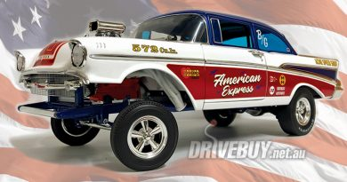 ACME 1:18 'AMERICAN EXPRESS' 1957 CHEVY GASSER