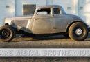 BARE METAL BROTHERHOOD – GEORGE NIKITAS 1934 FORD COUPE