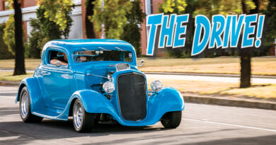 THE DRIVE!  DARIAN MORANO 1934 CHEVY COUPE